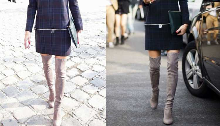 Over The Knee And Knee High Boots
