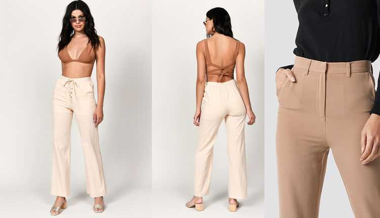 White Or Beige Pants