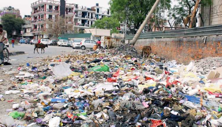 Inappropriate Disposal Of Waste, India