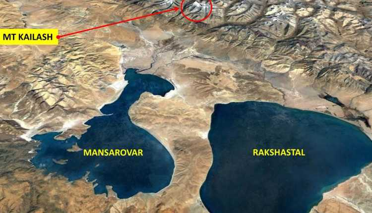 The Location Of Mt Kailash, Mansarovar, Rakshastal