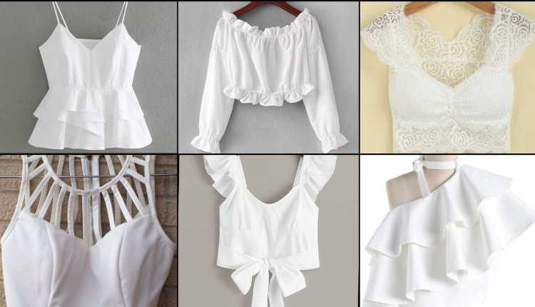 White Blouse, Blouse Designs, Stylish Blouse