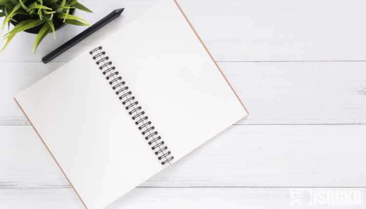 A Notebook, Copy, Register
