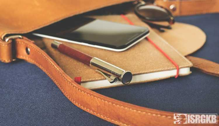 A Pen, Diary, Bag
