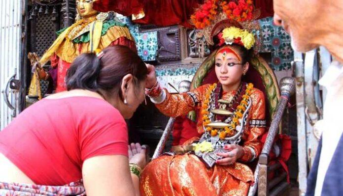 Kumari Goddess, Nepal, Current Kumari Goddess Of Nepal, Trishna Shakya