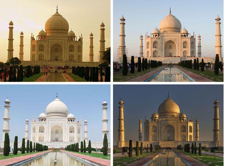 Taj Mahal Can Change The Colour