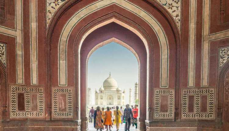 Taj Mahal Illusion, Taj Mahal Gate