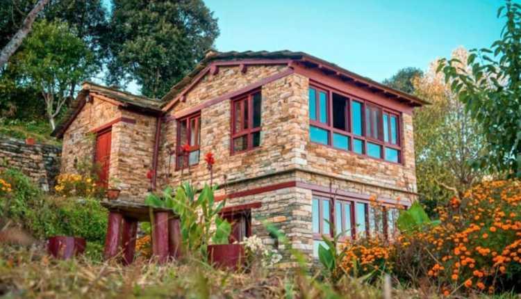 Kumaoni Houses, Hilly House, Two Story House