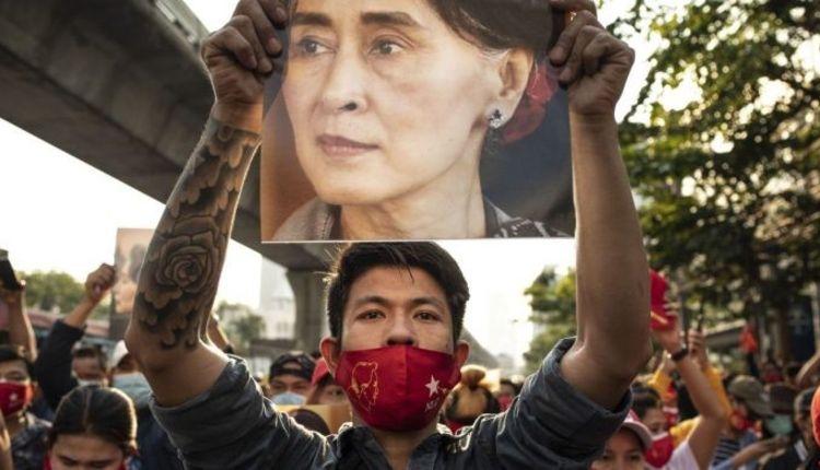 Myanmar, Burma, Protest