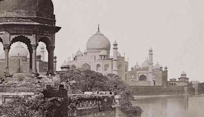 Oldest Photo Of Taj Mahal, Fact About Taj Mahal, Unbelievable Facts