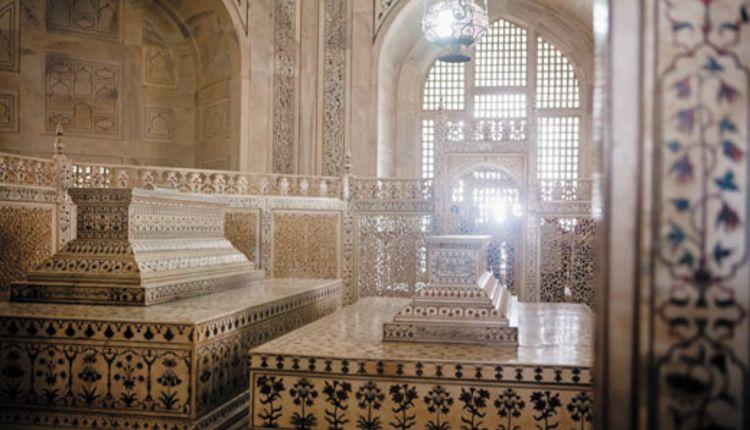 Taj Mahal Ceiling Hole Water Drop