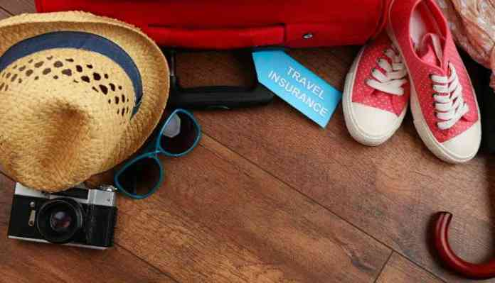 Travel Insurance, Cap, Camera, Goggles, Shoes