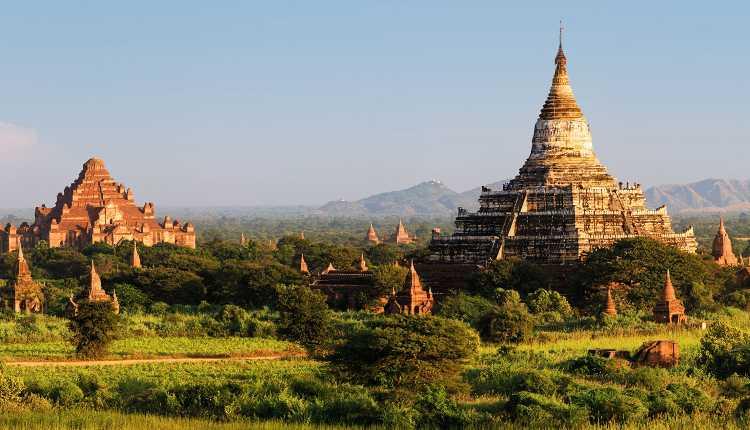 Dhammayan Gyi Temple, Buddhist Temple, Myanmar, Naypyitaw, Burma