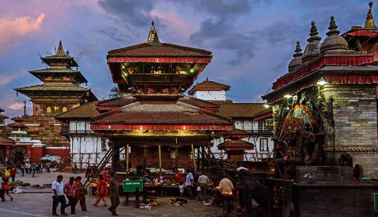 Kathmandu, Nepal, Durbar Square, Royal Palace