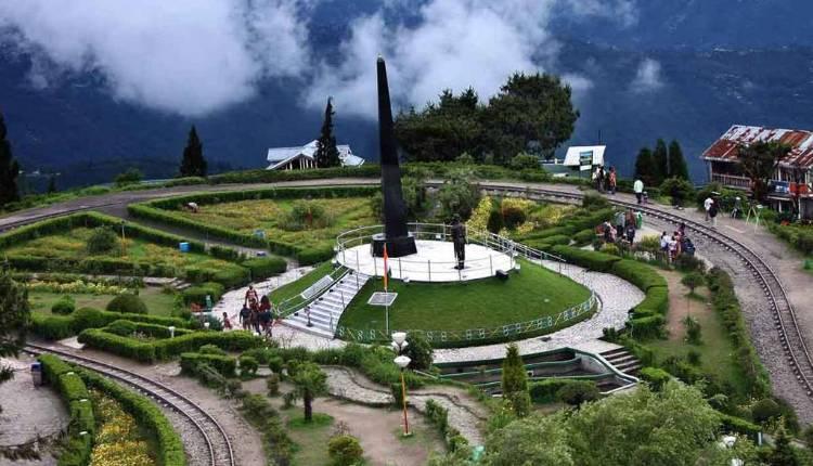 Batasia Loop, Spiral Railway, Darjeeling,himalayan Railway