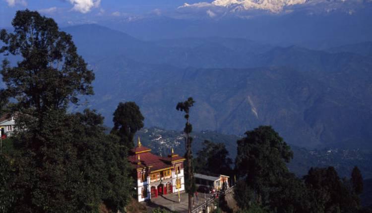 Bhutia Busty, Monastery, Darjeeling, West Bengal