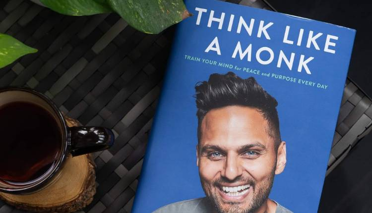 Think Like A Monk, Jay Shetty, Indian Author, Book