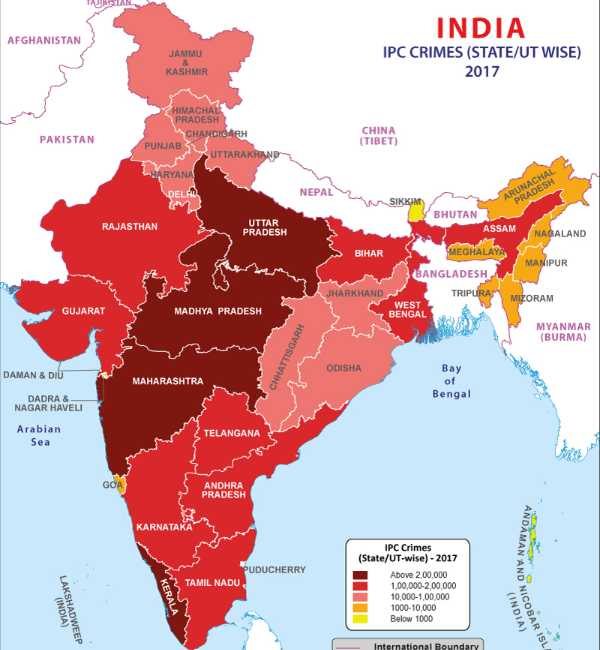 Crime Against Women In India Heatmap