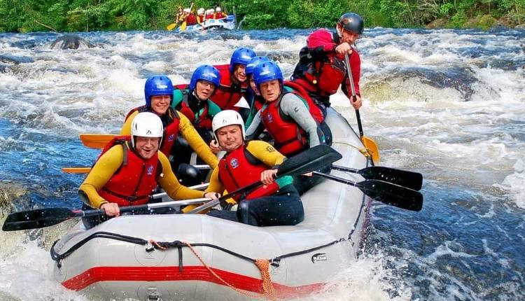 Gangtok, Sikkim, River Rafting