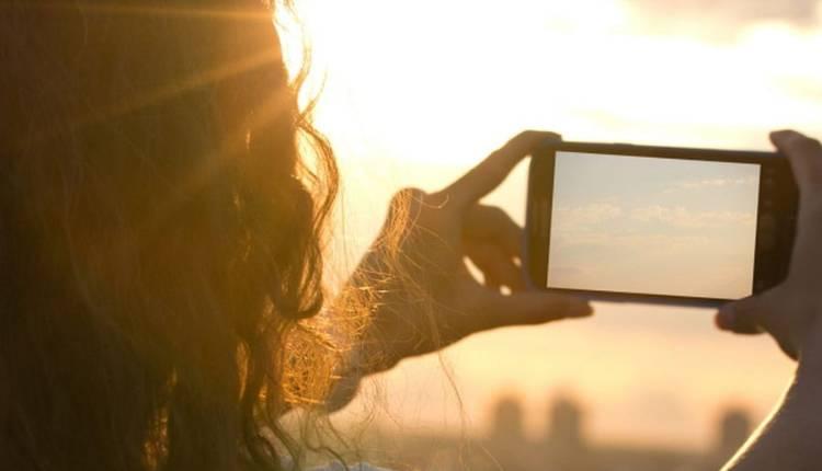 Phone Camera Adjust Sun