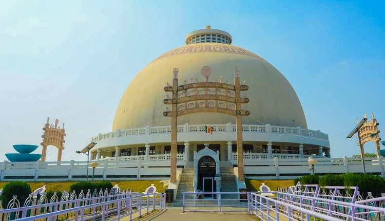 Deekshabhoomi, Monument, Navayana Buddhism, Nagpur, Maharashtra