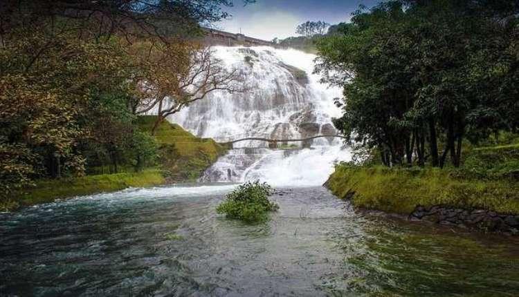 Umbrella Falls Bhandardara, Waterfall In Shendi, Maharashtra