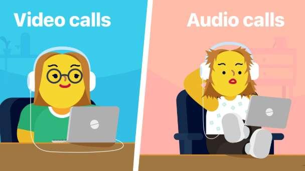 Work From Home, Meme, Audio Calls, Video Calls