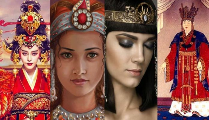 Famous Queen, Rulers, World History