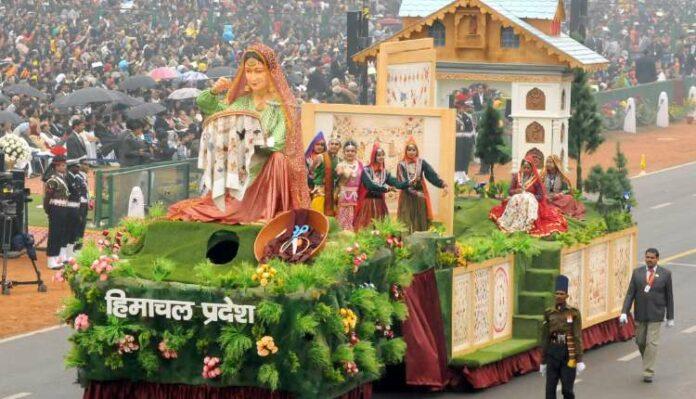 Himachal Pradesh Republic Day Parade, Himachali Culture, Art