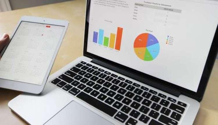 Laptop, Stats, Market, Marketing