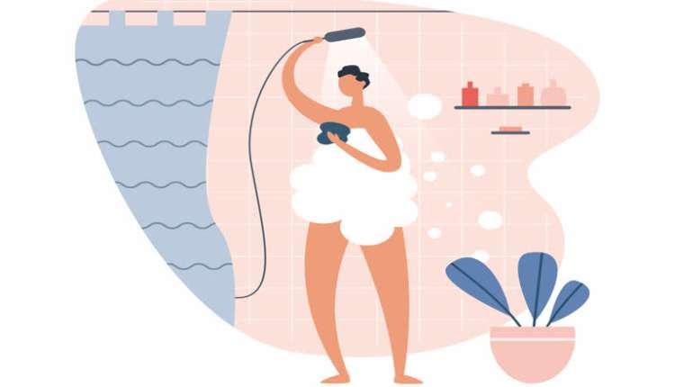 Pubic Area Hygiene, Bathing