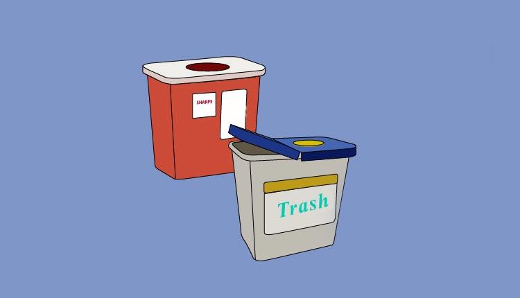 Trash, Dust Bin, Disposable