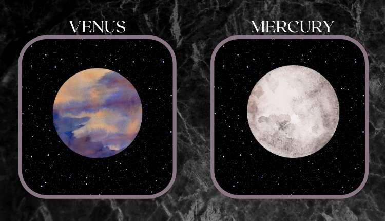 Hotter Venus, Cooler Mercury
