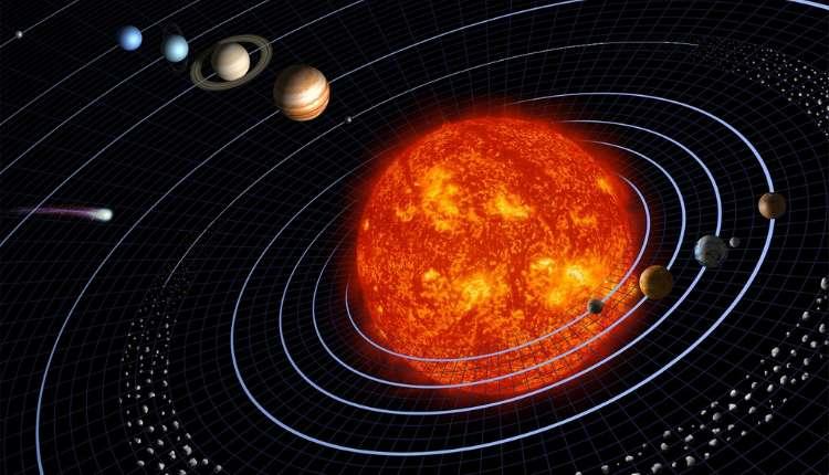 Solar System, Planets, Star, Sun, Belt