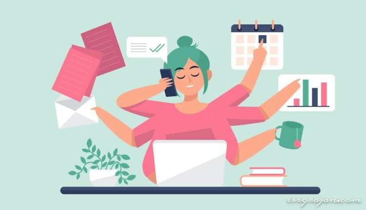 Online Employment, Woman, Employment, Working, Computer
