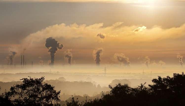 Pollution,industry, Sunrise, Fog, Germany