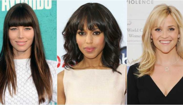 Bangs, Haircut, Hairstyle, College, Celebrities (1)