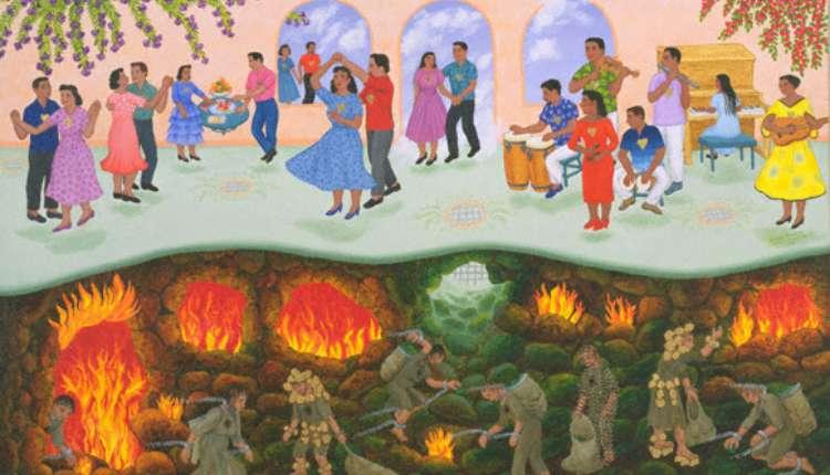 Hinduism, Hell, Heaven